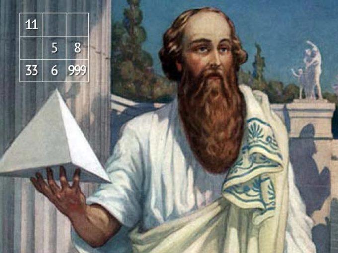 Пифагор и его квадрат судьбы