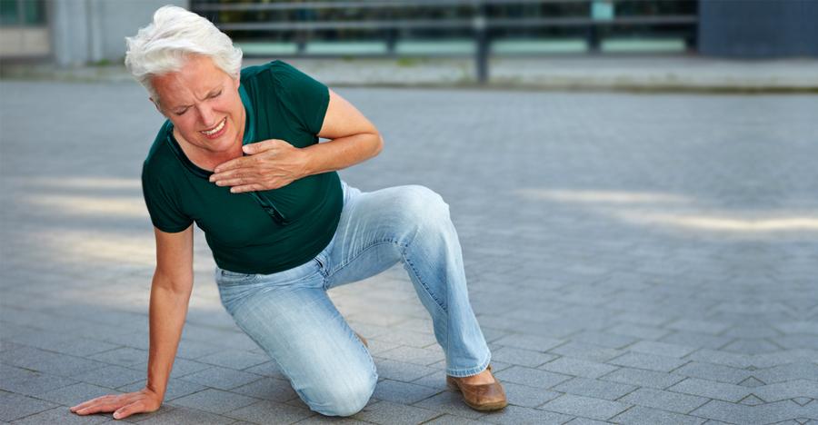Симптомы обширного инфаркта