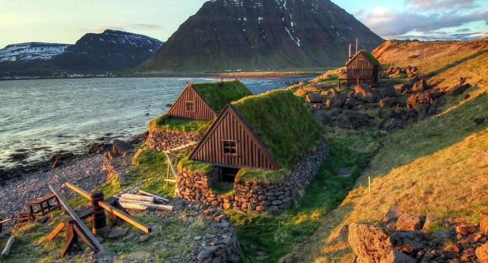 Традиционные дома в исландии