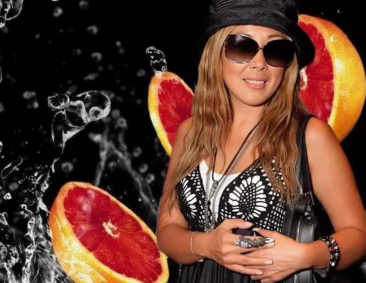 Анита цой придерживается грейпфрутовой диеты