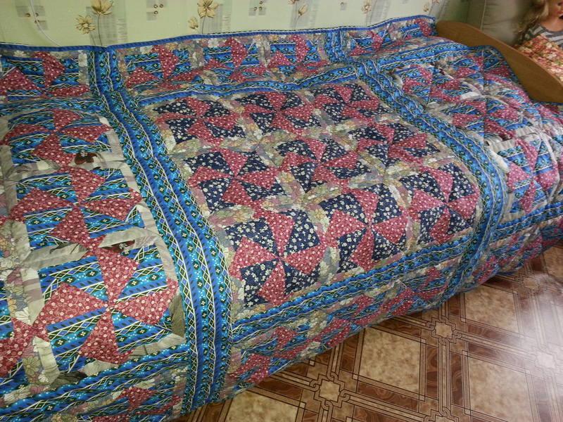914a23ab6f925ddd617fbc2eca4f09dd Мастер-класс: Шьем лоскутное одеяло в стиле пэчворк