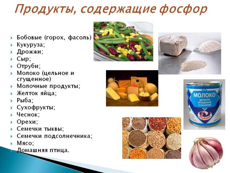 Источники фосфора