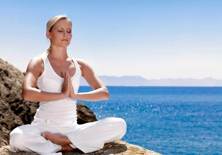 Медитация на свежем воздухе поможет быстро успокоиться