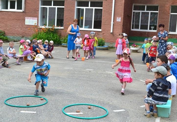 Соревнования отлично развивают малышей