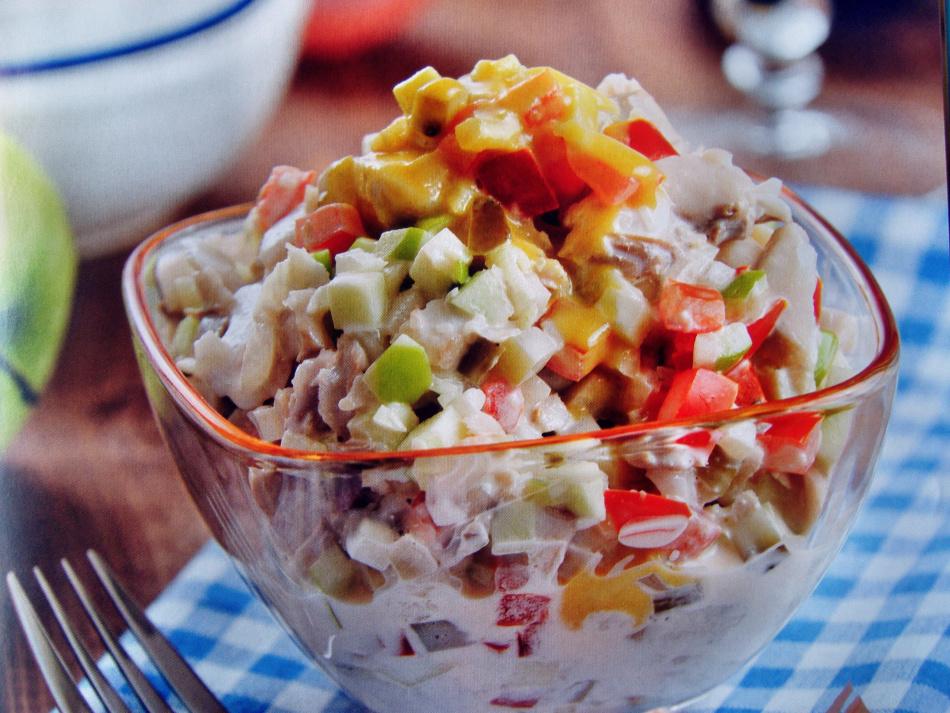 Несложные салаты рецепты с фото