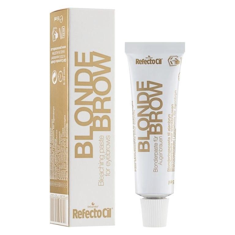 Отбеливающая паста для бровей и ресниц refectocil blond 0