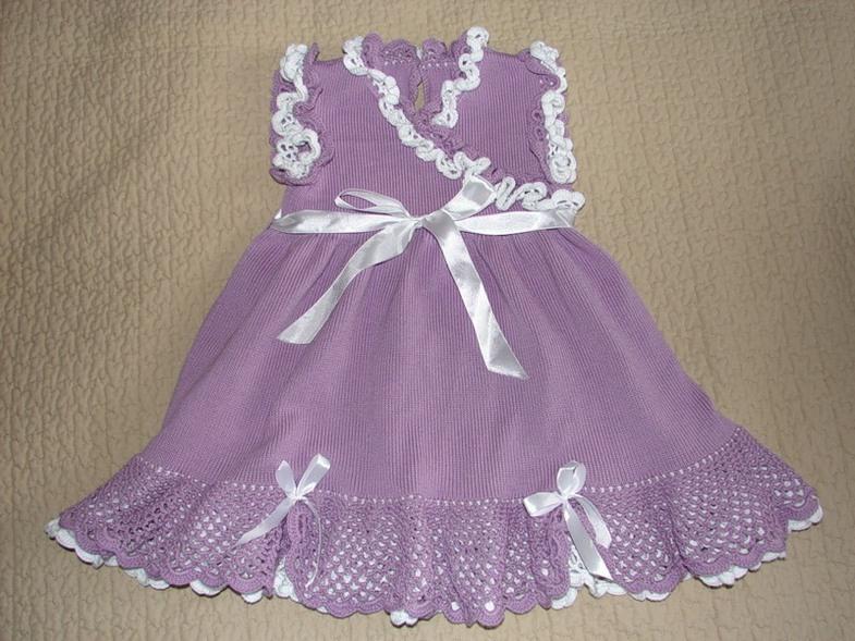 94c5f9c68b43a53eacdc8861a5722091 Вязаное платье для девочки 2 года: схемы