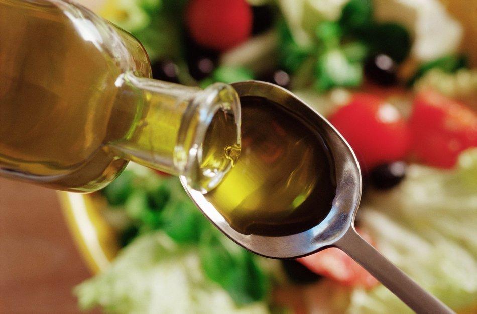 Тюбаж печени оливковым маслом