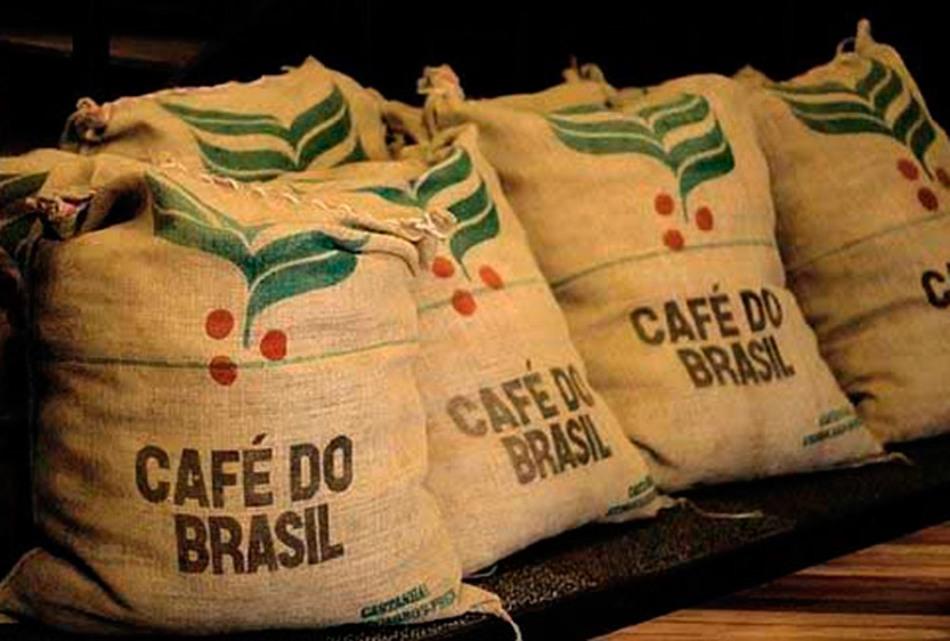 Зерновой кофе из бразилии