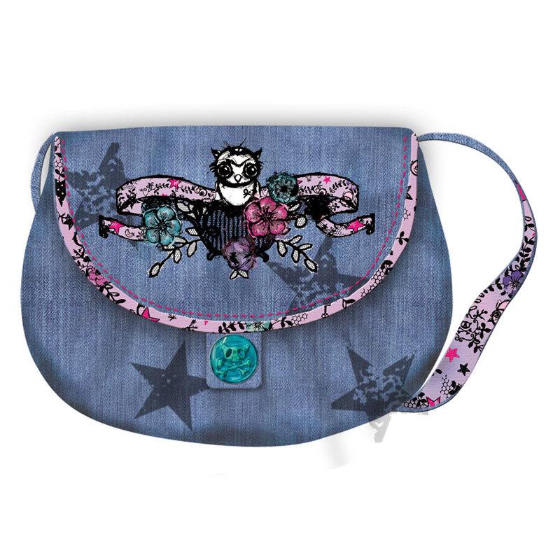 stilnie-sumki-iz-dzhinsovoi-tkani-foto Самодельная меховая сумочка
