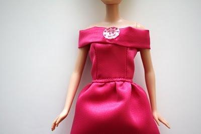 vechernee-plate-dlya-barbi-shag-11 Как сшить одежду для куклы Барби и Монстер Хай своими руками: выкройки, схемы, фото. Как сшить карнавальный костюм для куклы Барби и Монстер Хай своими руками?