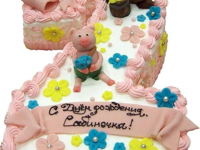 рецепт торта на 2 годика