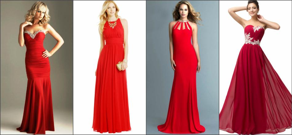 c759b517dca С чем сочетать красное платье