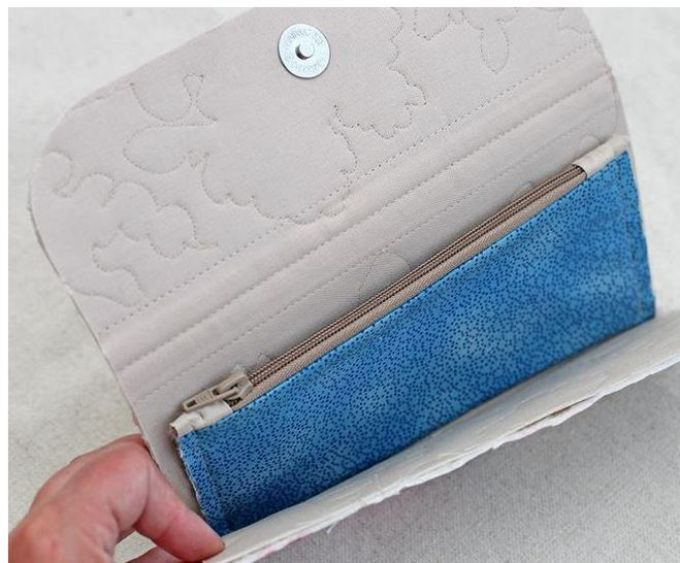 98afeb0830b532926bd5da8b2c1bceed Кошелек для бумажных денег и монет своими руками: выкройки, фото. Как сделать своими руками кошелек из кожи, бисера, ткани, джинсы, фетра, резинок?