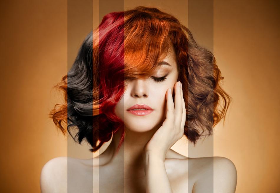 Окрашивание волос аммиачной краской - лучший вариант для кардинального преображения
