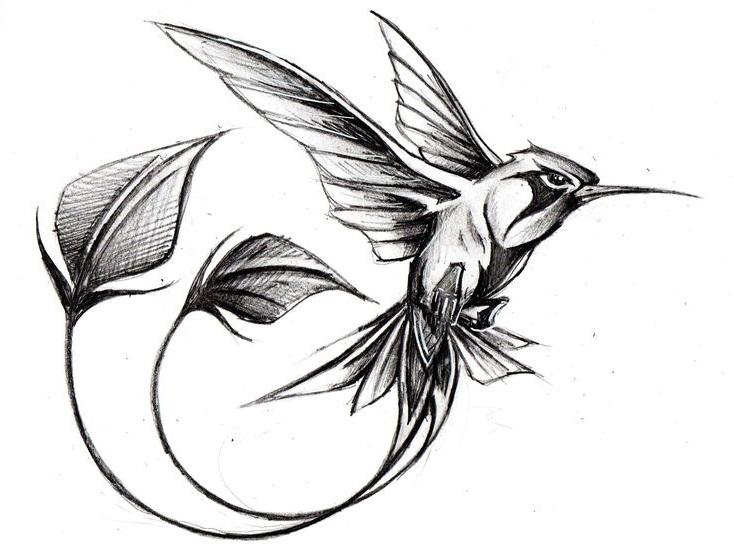 обработкой являются эскизы татуировок птицы фото сочетание
