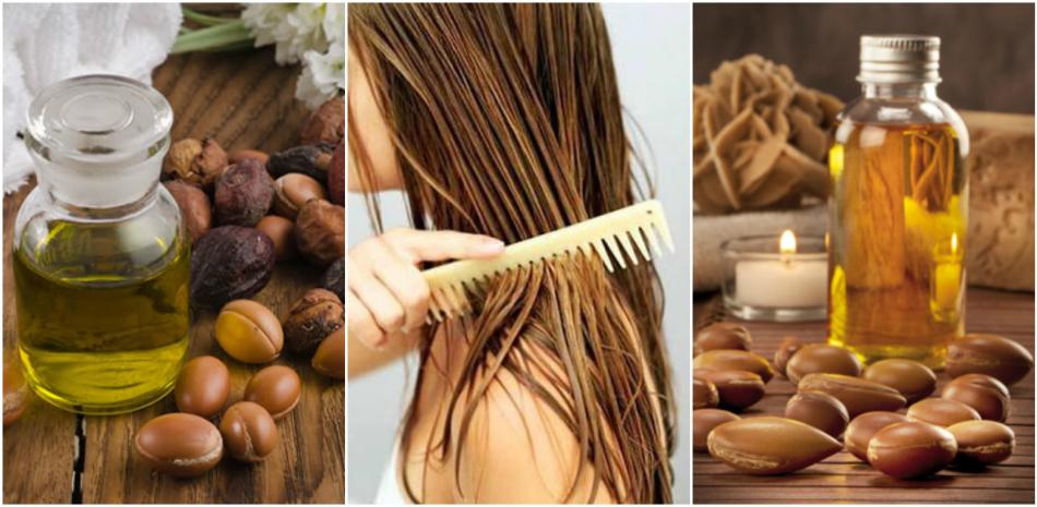 Аргановое масло очень полезно для волос