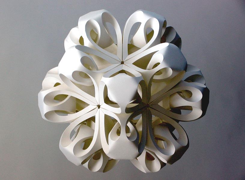 snezhinka-origami-foto-3 Как крючком связать красивую снежинку? Снежинки крючком: узор, схемы с описанием для начинающих