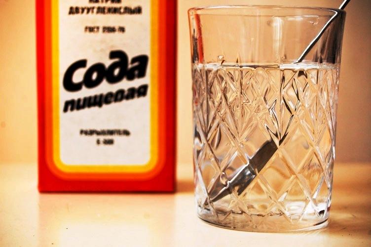 Содой с перекисью можно очистить организм