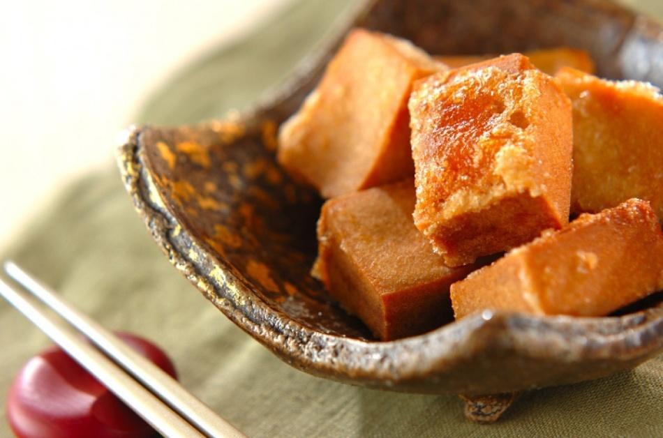 Соевый сыр в панировке