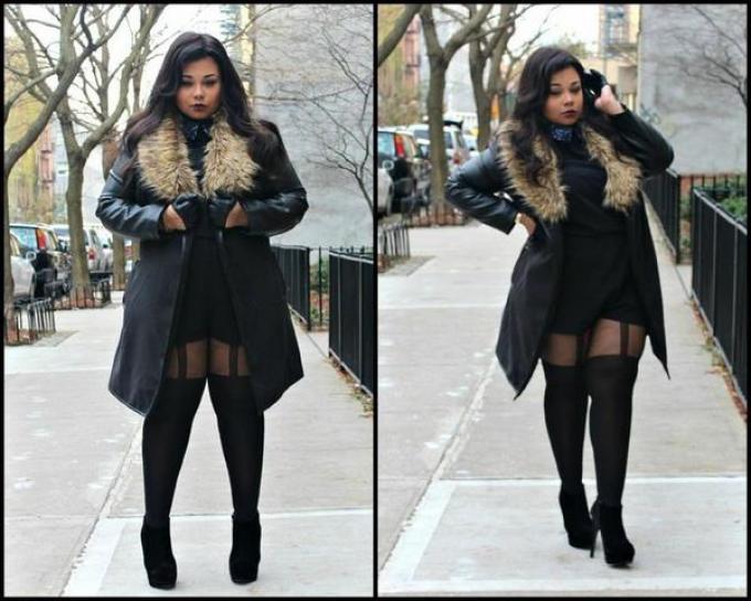 f81853d334cd Лучшие зимние модные и стильные образы в 2019-2020 году для девушек ...