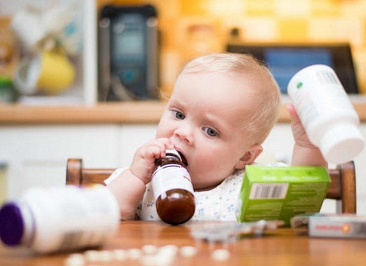 Ребенок выпил беродуал