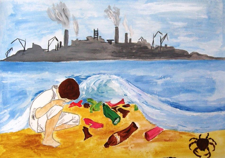 умелом декоре, рисунки картинки на тему засорение экологии памятники стекла могилу