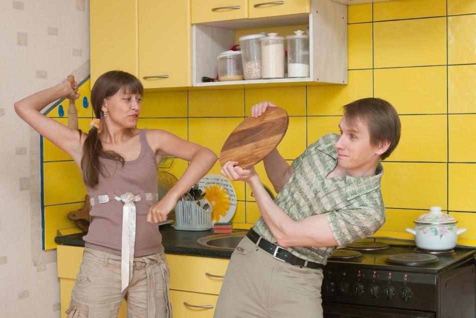 Ссора с бывшим мужем