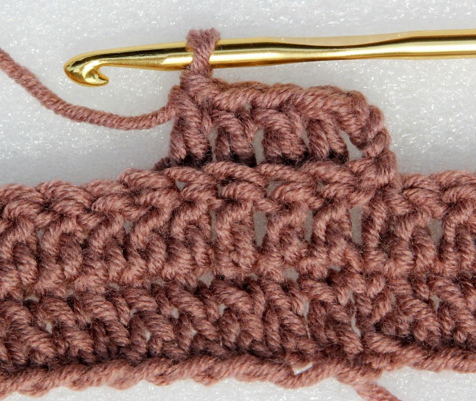шарф труба крючком схема вязания с описанием узоры фото как