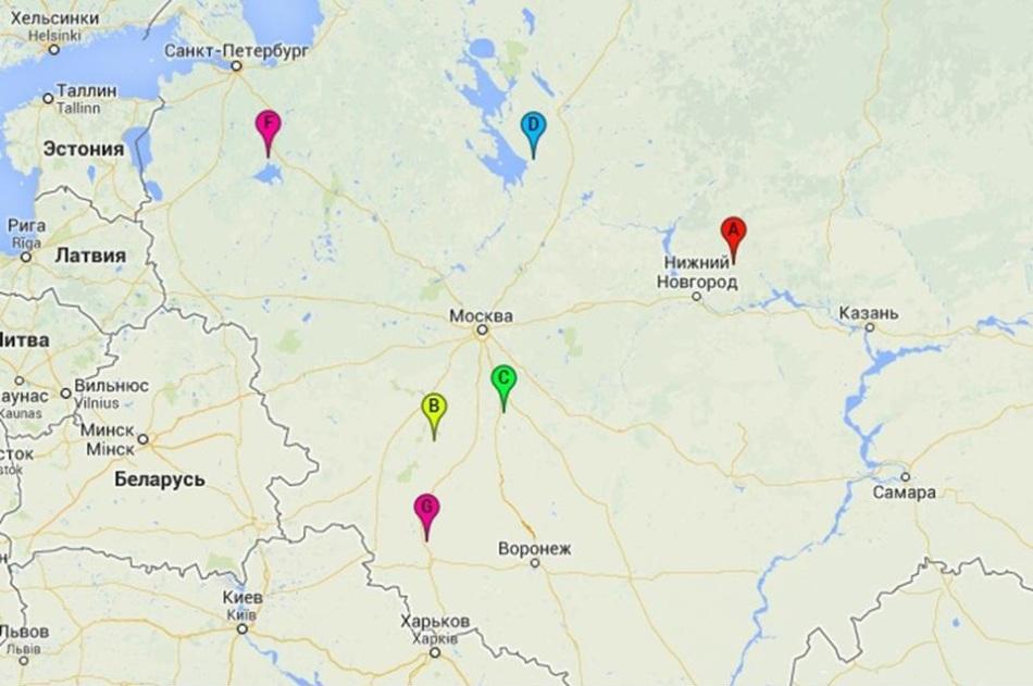 Карта маст силы россии, часть 1