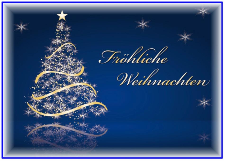 Новым, открытка рождеством на немецком языке