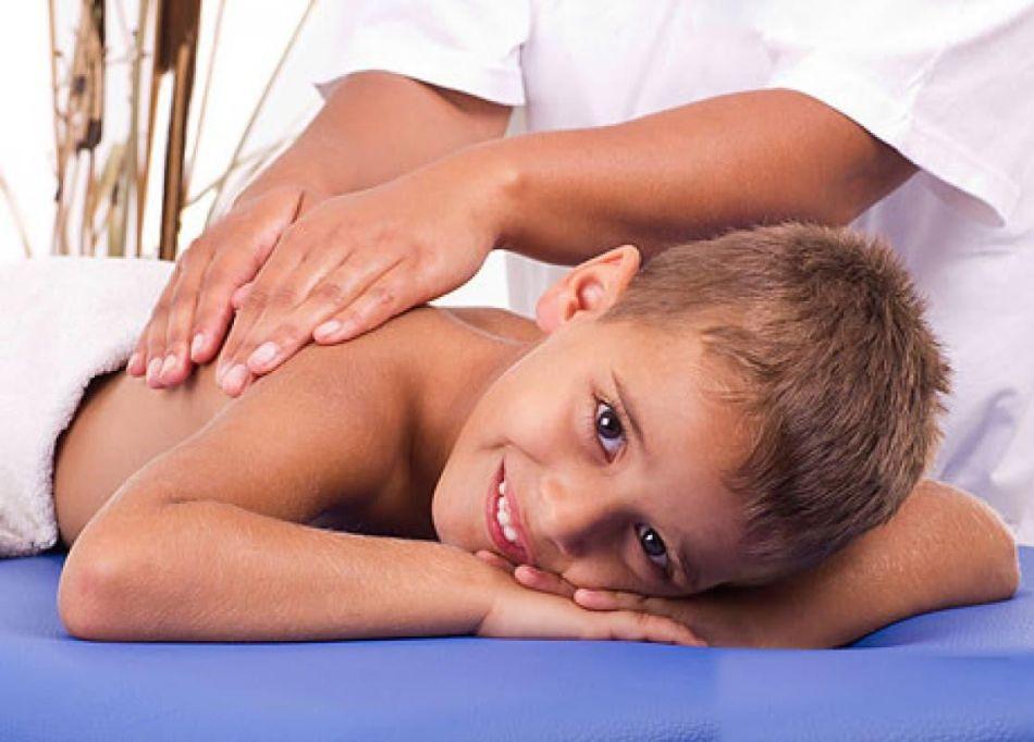 Массаж при нарушениях осанки у детей
