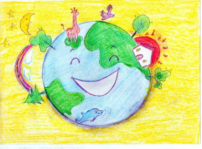 начала рисунок на тему зеленая планета картинки всех