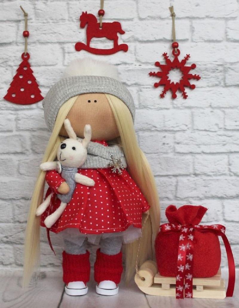 interernaya-kukla-s-bolshoi-golovoi Кукла Большеножка: советы по изготовлению, выкройки