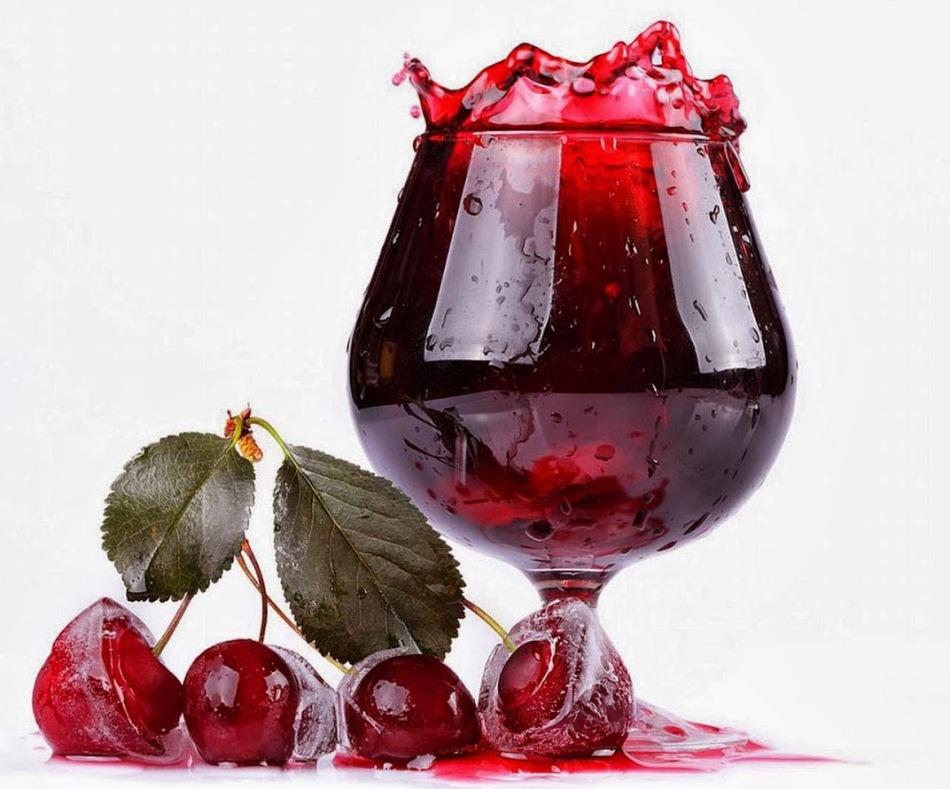 Сок2. вишнёвый сок для глинтвейна - потрясающее сочетание вкуса и пользы