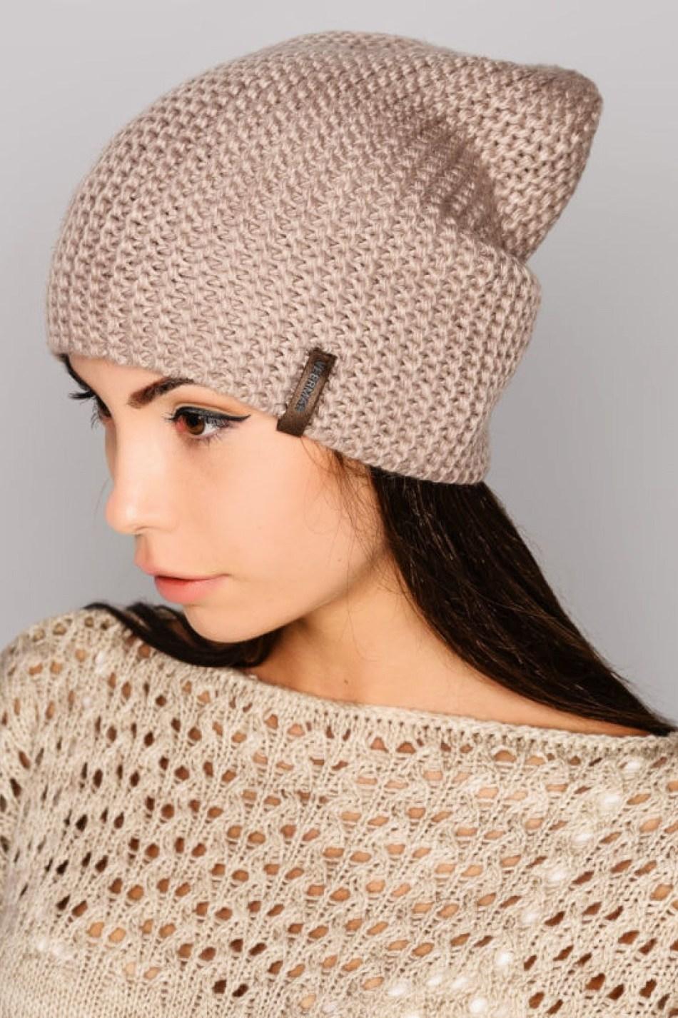 Схема вязания шапки платочной вязкой фото 374