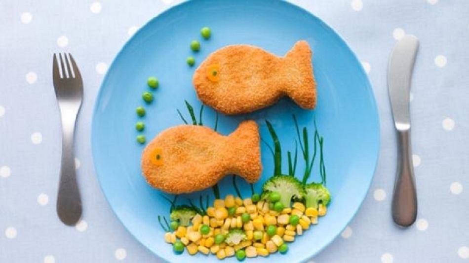 Интересно оформленное блюдо для ребенка