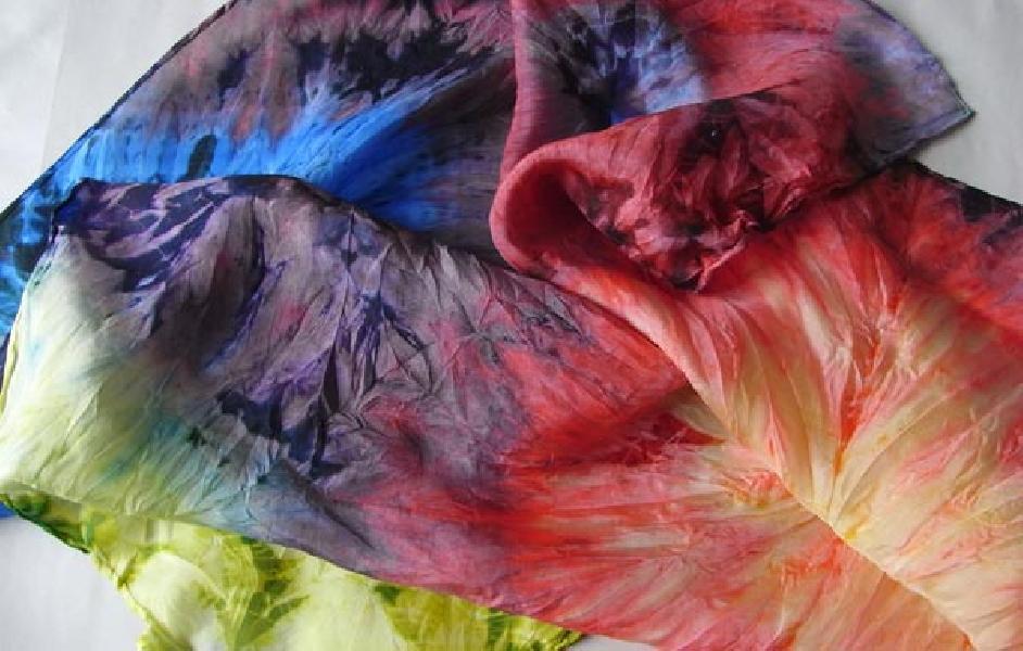 uzelkovii-batik Батик: роспись по ткани для начинающих и мастер класс с фото