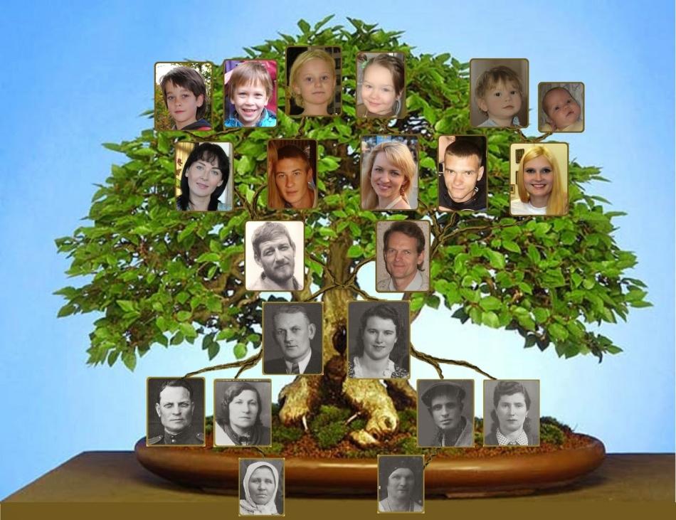 Родовое дерево - оригинальный и душевный подарок для девушки