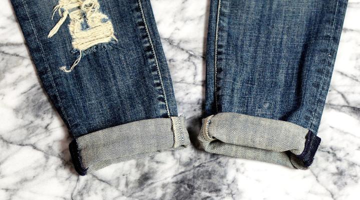 Картинки как правильно заворачивать джинсы множества оттенков