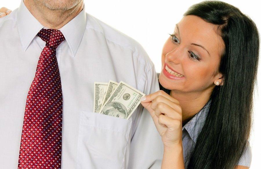 Женщине очень нужны деньги
