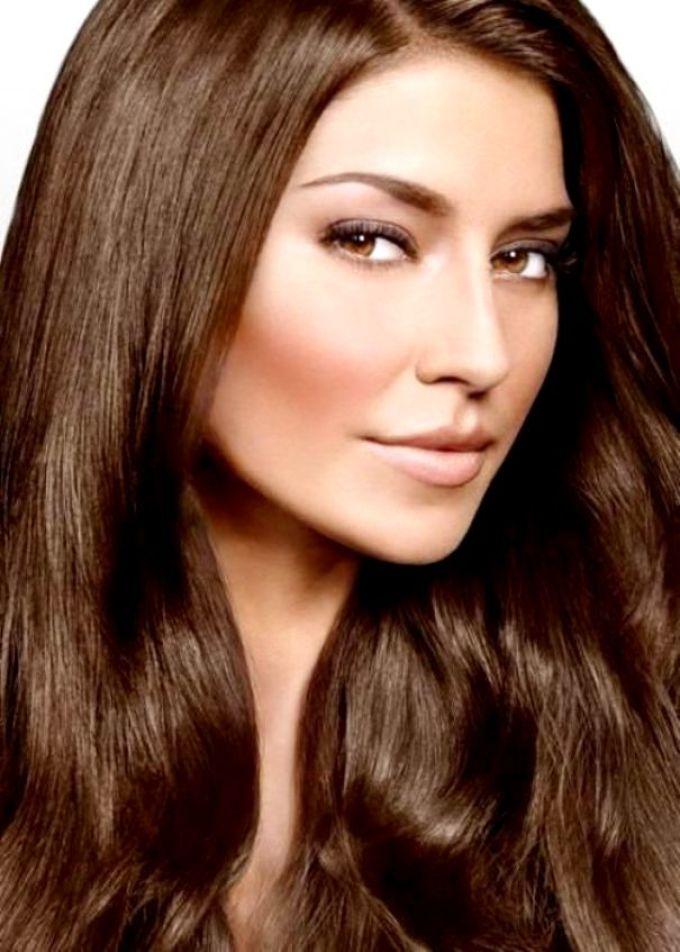 Самый красивый оттенок волос шоколад фото можно