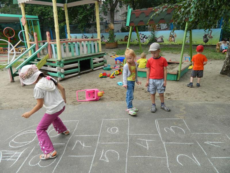 Игры детей во дворах картинки