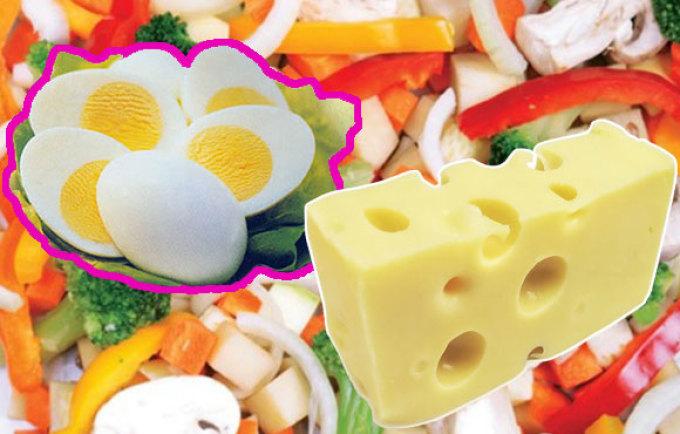 Сыр очень важен в данной диете