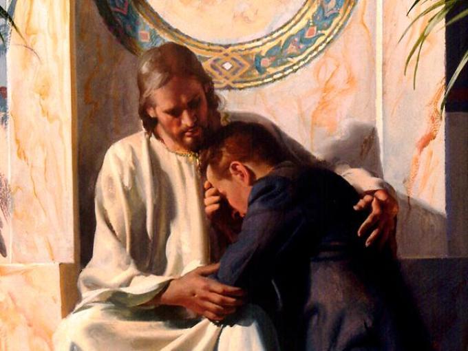 Милостивый бог готов простить людям их грехи.