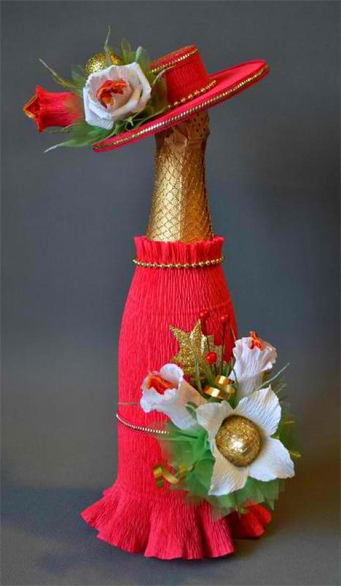 a610e073089b2a0731893dbd3d209723 Декор бутылки на праздник в день рождение малыша