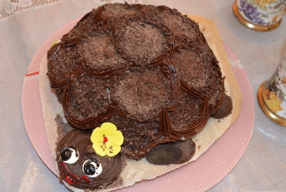 торт черепаха самый простой рецепт с фото еще раньше прославился