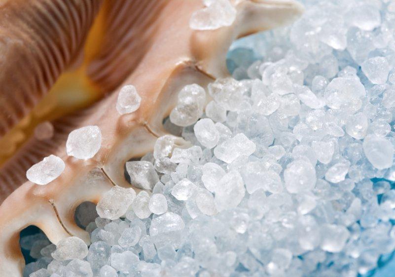 Морская соль - применение, свойства, польза