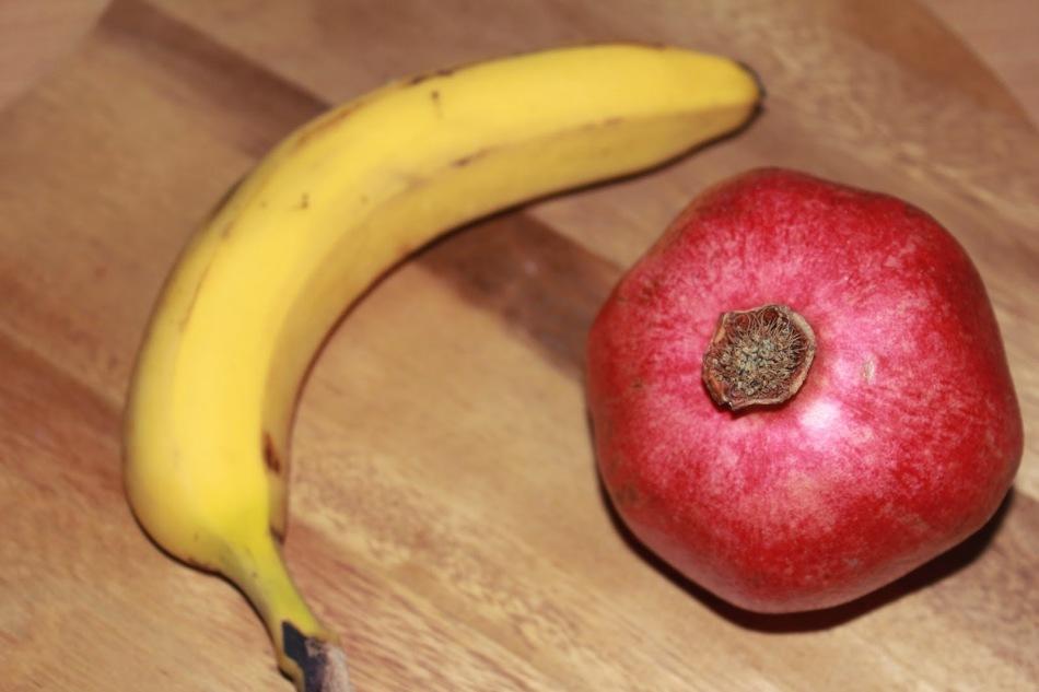 Бананы и гранаты — подспорье для косметолога
