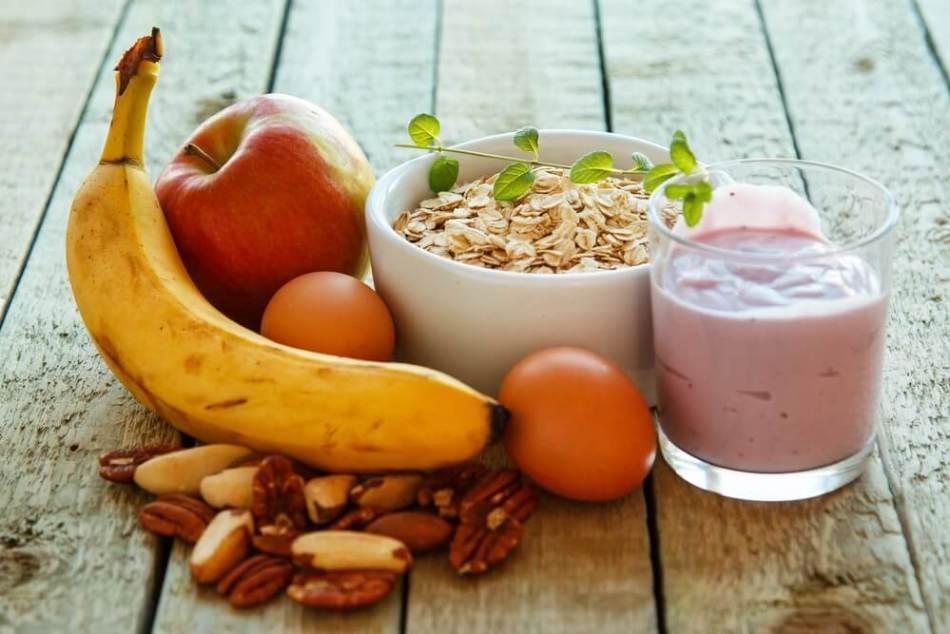 Вариант сытного завтрака или обеда перед тренировкой для похудения